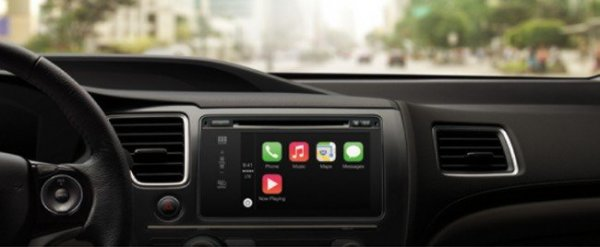 Apple представила систему CarPlay для автомобилей