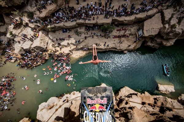 Финал мировой серии Red Bull Cliff Diving 2017
